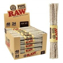 RAW Unbleached Hemp Pipe Cleaner (48pcs/display)