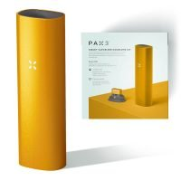 PAX 3 Smart Vaporizer Complete Kit for Dry Herbs Amber
