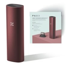 PAX 3 Smart Vaporizer Complete Kit for Dry Herbs Burgundy