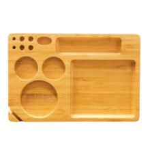Buddies Tool Set 13-in-1 Bamboo Rolling Tray