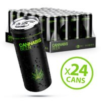 Cannabis Haze Lager Beer 4.9% Alc. 500ml (24cans/masterbox)