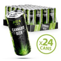 Cannabis Lager Beer 4.9% Alc. 500ml (24cans/masterbox)