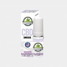 Cannapresso - E-Liquid al CBD gusto Grape-Blackcurran (10ml/100mg)