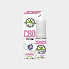 Cannapresso - E-Liquid al CBD gusto Cherry Mint (10ml/1000mg)