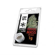Plant of Life 10% CBD Jelly Critical Mass (1g)