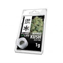 Plant of Life 22% CBD Jelly Mango Kush (1g)