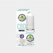 Cannapresso - E-Liquid al CBD gusto Straw-Melon Ice (10ml/300mg)