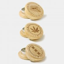 Grinder in Legno Amsterdam 1 50mm - 2 parti (12pezzi/display)