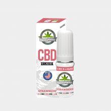 Cannapresso - E-Liquid al CBD gusto Strawberry (10ml/500mg)