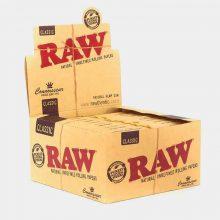 RAW Connoisseur kingsize slim + punte (24pezzi/display)