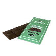 Cioccolato al latte organico alla Cannabis 100g senza THC (18pezzi/display)