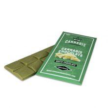 Cioccolato bianco organico alla Cannabis 100g senza THC (18pezzi/display)