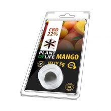 Plant of Life 22% CBD Jelly Mango Fruit (3g)