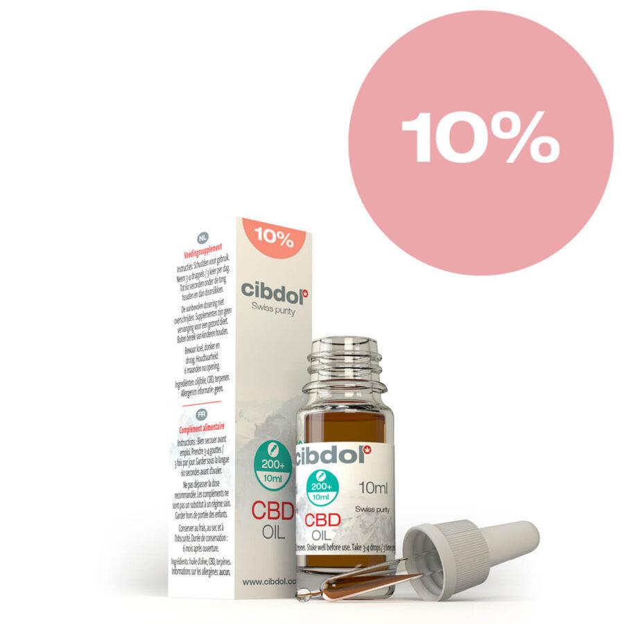 Cibdol Olio di CBD 10% (10ml)
