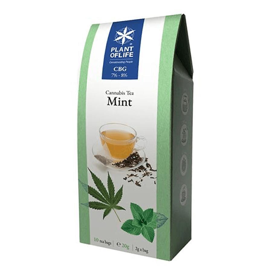 Plant of Life 7% -8% CBG Infuso Te alla Menta