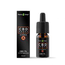 Pharma Hemp Olio di CBD 7% Arricchito con Vitamina A (10ml)
