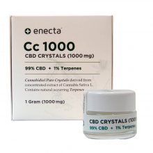 Enecta CC1000 Cristalli di CBD 1000mg (1g)