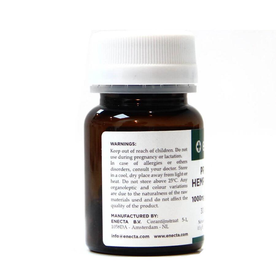 Enecta 1000mg CBD Estratto di canapa Soft-gel (30 capsule)