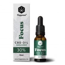 Happease Focus 30% Olio di CBD Jungle Spirit (10ml)