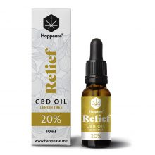 Happease Relief 20% Olio di CBD Lemon Tree (10ml)