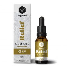 Happease Relief 30% Olio di CBD Lemon Tree (10ml)