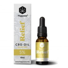 Happease Relief 5% Olio di CBD Lemon Tree (10ml)