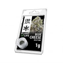 Plant of Life 22% CBD Jelly Blue Cheese (1g)