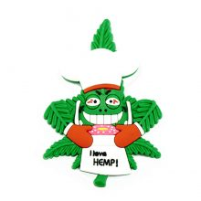 Hempy The Chef Cannabis Magnete 3D in silicone