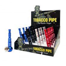 Pipe Tobacco in Alluminio Vortex Colori Misti (20pezzi/display)