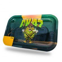 Best Buds Vassoio per rollare AK47 Medium con Grinder Card