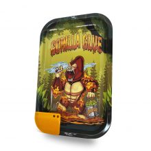 Best Buds Vassoio per rollare Gorilla Glue Medium con Grinder Card