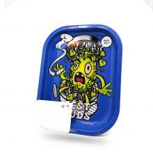 Best Buds Vassoio per rollare Grind Me Mini con Grinder Card