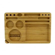 Buddies Vassoio Per Rollare in Bambu 15-in-1