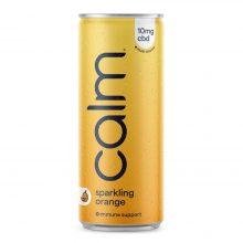 Calm Orange Multi-Vitaminico Immune 10mg CBD Infuso Frizzante 250ml (24lattine/box)