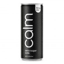 Calm Zero Sugar Cola 10mg CBD Infuso Frizzante 250ml (24lattine/box)