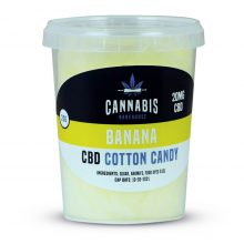 Cannabis Bakehouse Zucchero Filato 20mg CBD gusto Banana (20g)
