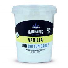 Cannabis Bakehouse Zucchero Filato 20mg CBD gusto Vaniglia (20g)