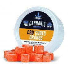 Cannabis Bakehouse Caramelle a Cubetti 5mg CBD gusto Arancia (30g)