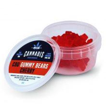 Cannabis Bakehouse Gummy Bears 4mg CBD gusto Ciliegia (30g)