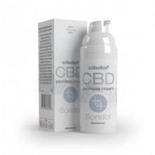 Cibdol Soridol Psoriasis Cell Growth 100mg CBD Crema (50ml)