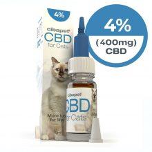 Cibapet 4% olio di CBD per Gatti (400mg CBD)