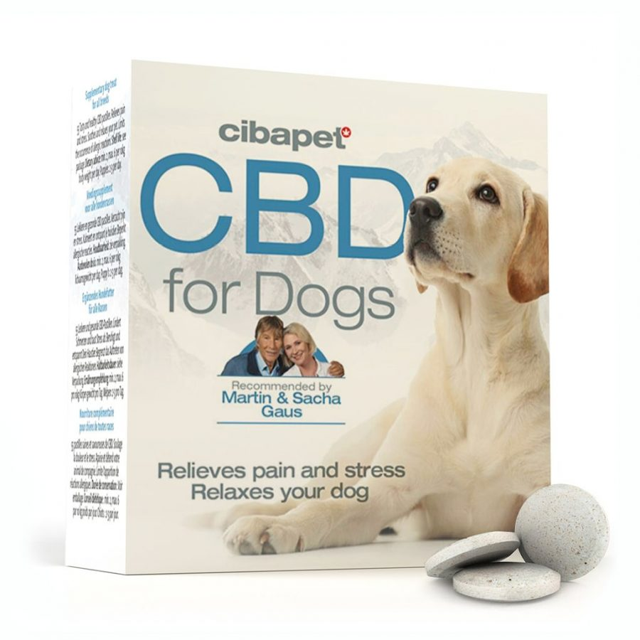 Cibapet 3.2mg CBD Compresse per Cani