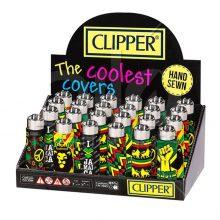 Clipper Accendini Jamaica 3 con Cover in Silicone (24pezzi/display)