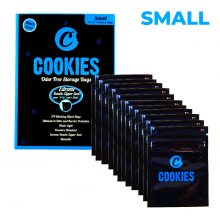 Cookies Ziplock Buste Anti-Odore Misura Piccola (12 pezzi)