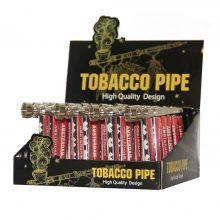 Pipa Tabacco in Metallo Amsterdam XXX (24pezzi/display)