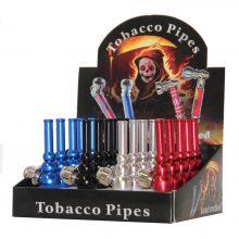 Pipa Tabacco in Alluminio Colori Misti (20pezzi/display)