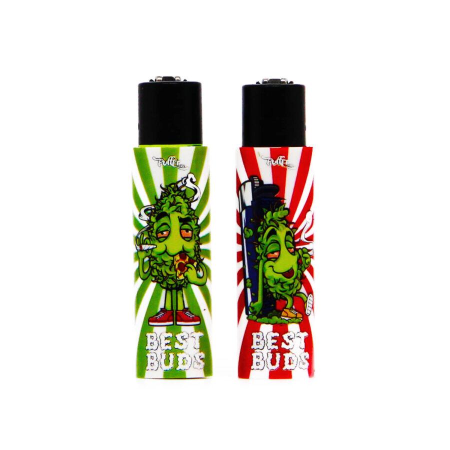 Clipper Accendini Best Buds con Grinder Integrato 1 (22pezzi/display)