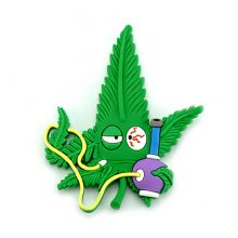 Hempy The Bongsmoker Cannabis Magnete 3D in silicone