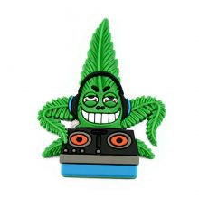 Hempy The DJ Cannabis Magnete 3D in silicone