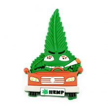 Hempy The Driver Cannabis Magnete 3D in silicone
